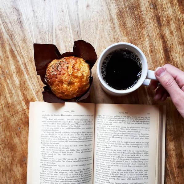 Treat Coffe and a Book
